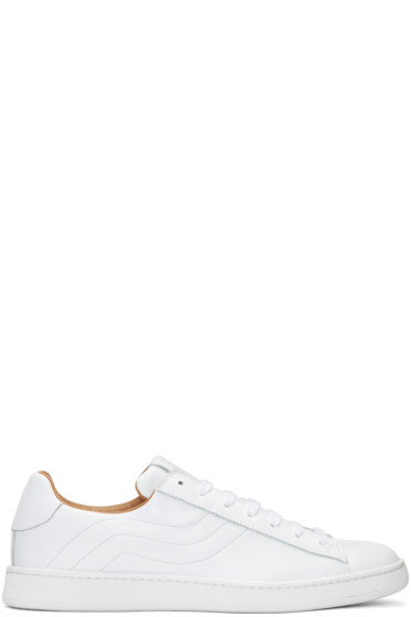Marc Jacobs - White Leather Sneakers