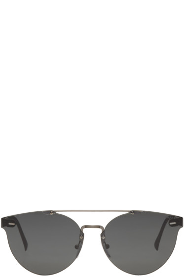 Super - Black Tuttolente Giaguaro Sunglasses