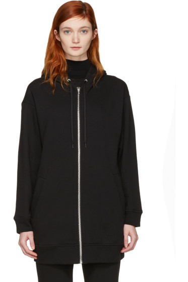 T by Alexander Wang - Black French Terry Hoodie