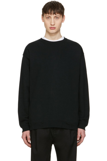 Robert Geller - Black French Terry Pullover