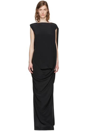 Rick Owens - ブラック ヌーボー ドレス