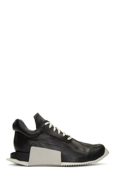 Rick Owens - Black adidas Originals Edition Level Sneakers