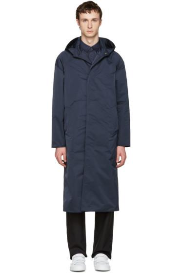 Jil Sander - Navy Montecarlo Tech Coat