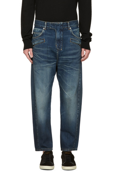 Balmain - Blue Twist Jeans