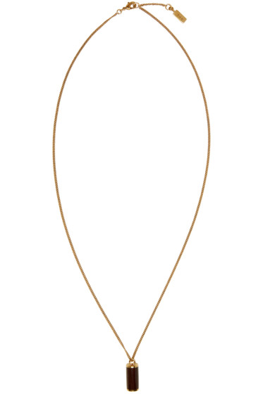 A.P.C. - Gold Turenne Necklace