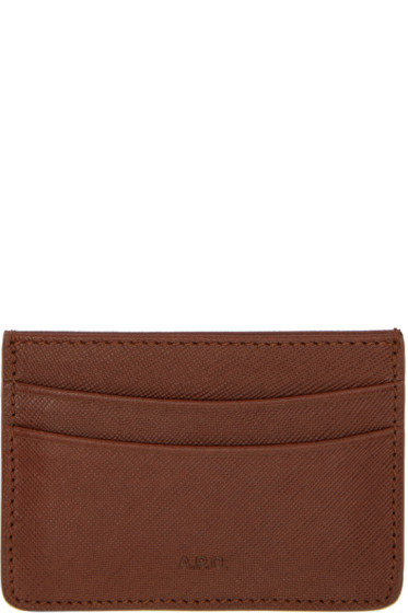 A.P.C. - Brown Andre Card Holder