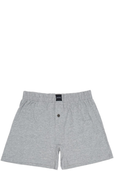 A.P.C. - Grey Cabourg Boxers