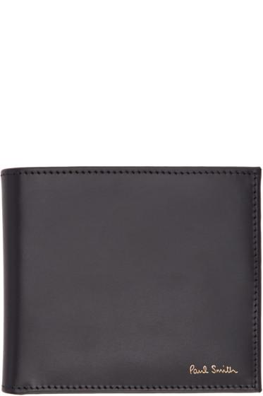 Paul Smith - Black Multi Stripes Wallet