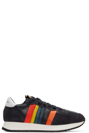 Paul Smith - Navy Stitch Sneakers