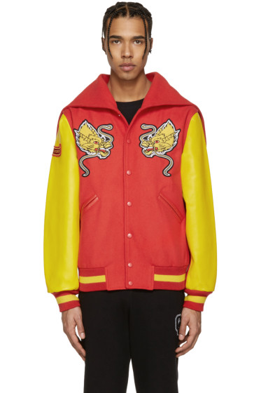 Opening Ceremony - Red China Global Varsity Jacket