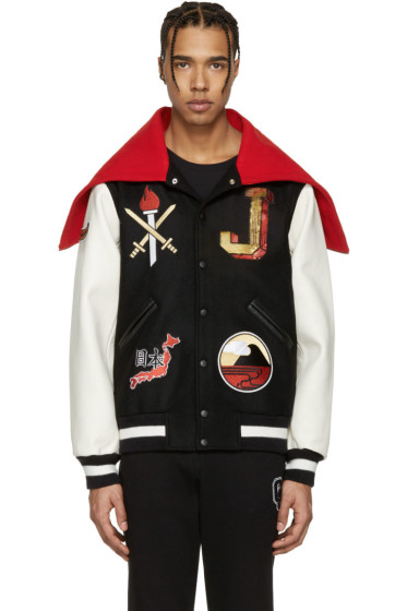 Opening Ceremony - Black Japan Global Varsity Jacket