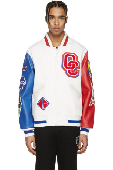 Opening Ceremony - White France Global Varsity Jacket