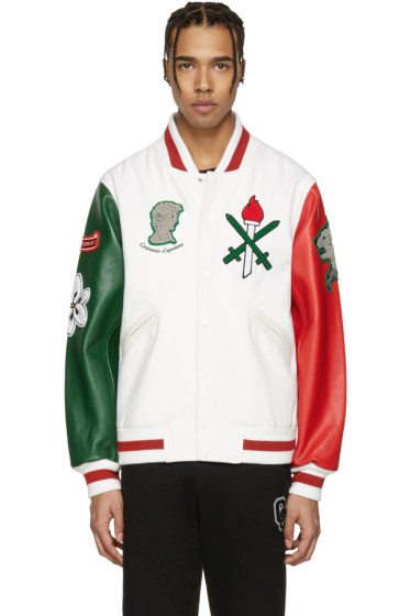 Opening Ceremony - White Italy Global Varsity Jacket