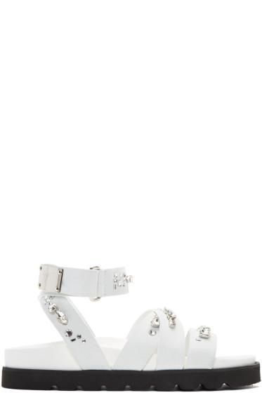 Giuseppe Zanotti - White Rimba Sandals