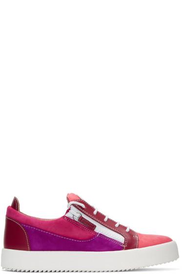 Giuseppe Zanotti - ピンク メイ ロンドン スニーカー