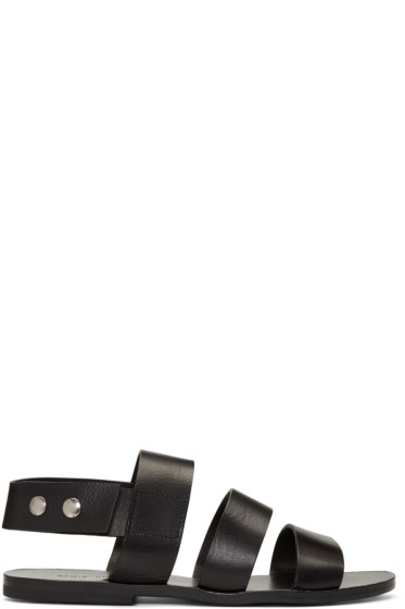 Damir Doma - Black Fiesta Sandals