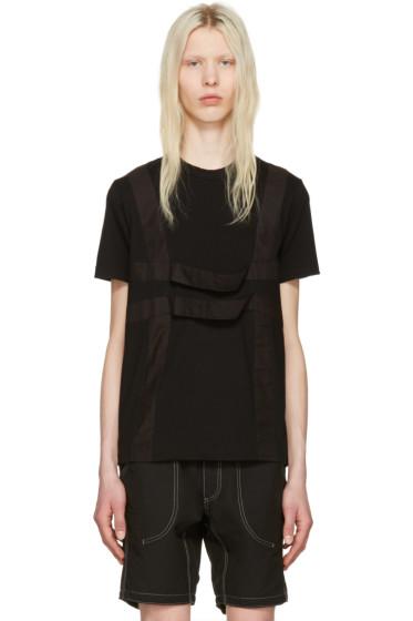 Comme des Garçons Shirt - ブラック ハーネス T シャツ