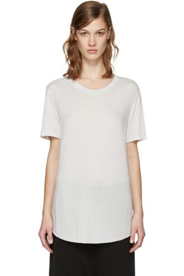 Raquel Allegra - Grey Jersey T-Shirt