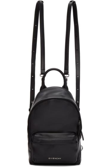 Givenchy - Black Leather Nano Backpack