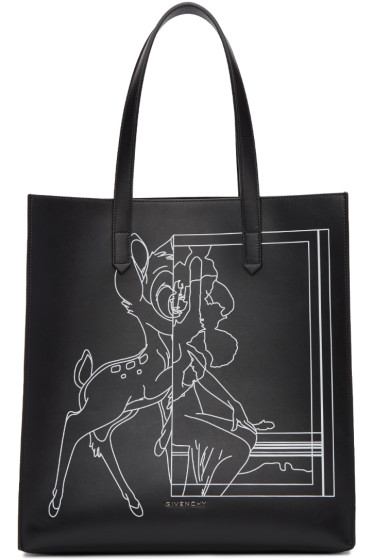 Givenchy - Black Medium Bambi Stargate Tote