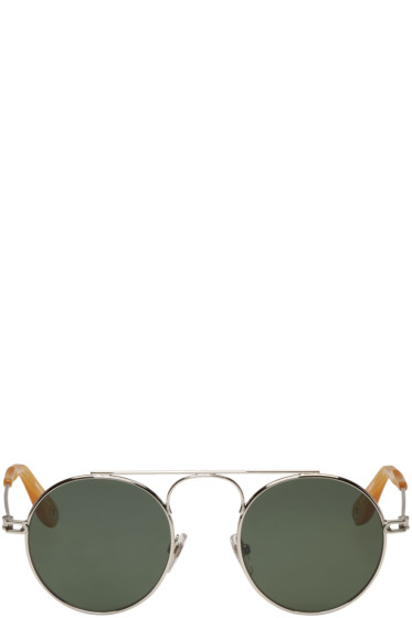 Givenchy - Silver Round Sunglasses