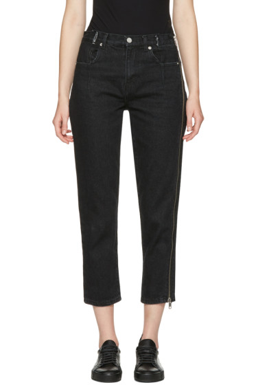 3.1 Phillip Lim - Black Zipper Jeans