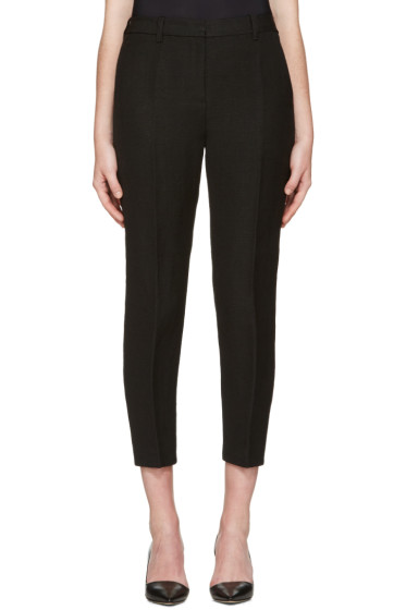 3.1 Phillip Lim - Black Jute Pencil Trousers