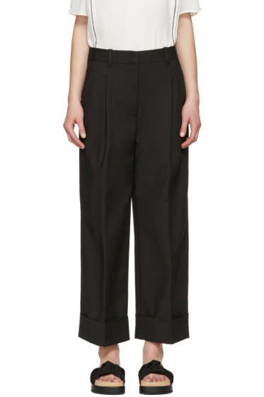 3.1 Phillip Lim - Black Wide-Leg Trousers