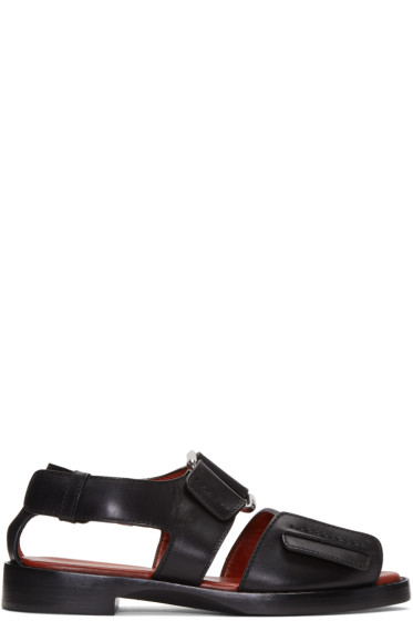 3.1 Phillip Lim - Black Addis Sandals