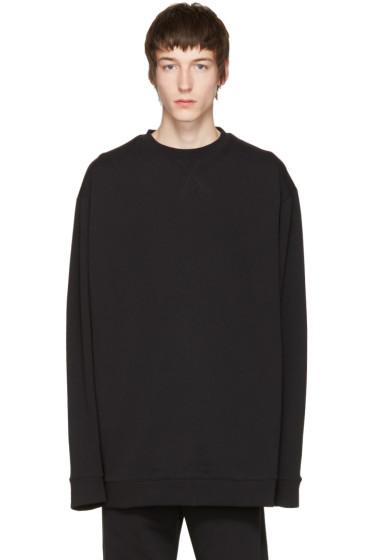Raf Simons - Black Robert Mapplethorpe Edition Oversized Waves Sweatshirt