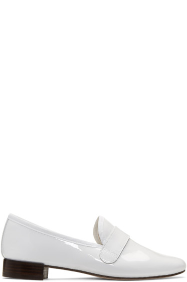 Repetto - White Michael Loafers