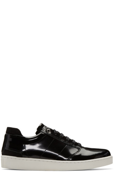 Want Les Essentiels - Black Patent Lennon Sneakers