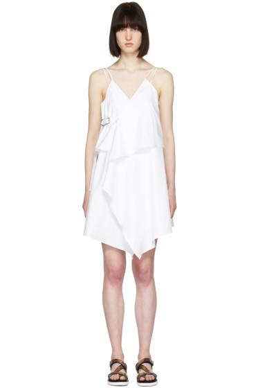 Carven - White Short Strap Dress