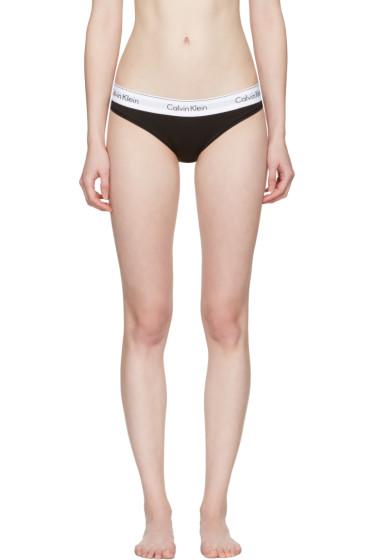 Calvin Klein Underwear - ブラック モダン ビキニ ブリーフ