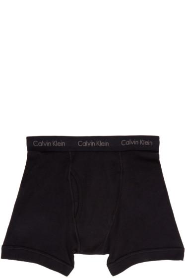 Calvin Klein Underwear - Three-Pack Black Boxer Briefs