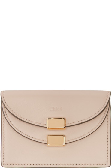 Chloé - Pink Leather Card Holder