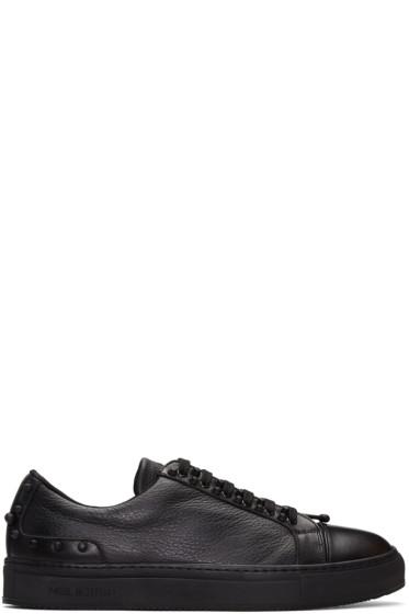 Neil Barrett - Black Studded City Sneakers