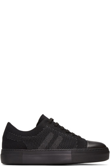 Neil Barrett - Black Skateboard Sneakers