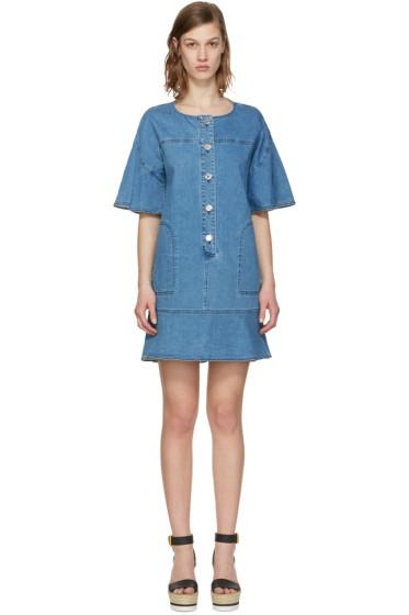 See by Chloé - Indigo Denim Dress