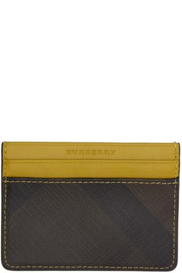 Burberry - Yellow Sandon Card Holder