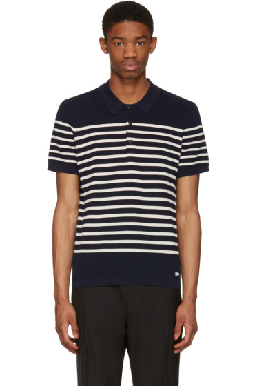 Burberry - Navy Derham Polo