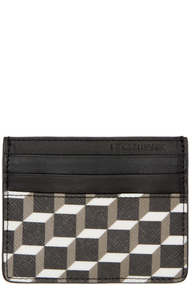 Pierre Hardy - Black Perspective Cube FW02 Card Holder