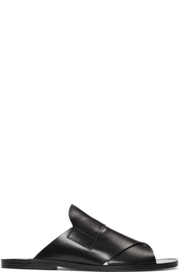 Pierre Hardy - Black Lipari Sandals