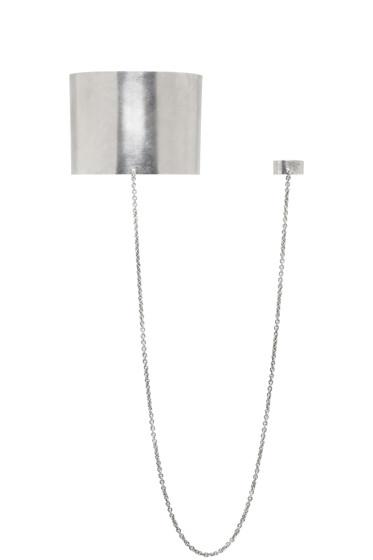 Ann Demeulemeester - Silver Ring Arm Cuff