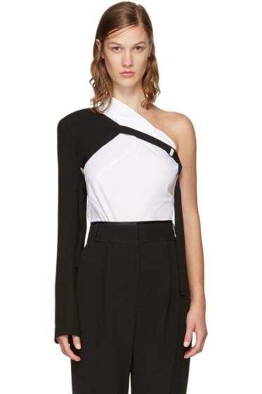 Ann Demeulemeester - Black Wool Sleeve