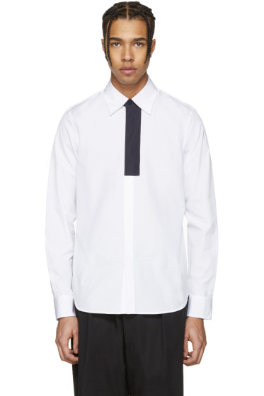 Marni - White Front Patch Shirt