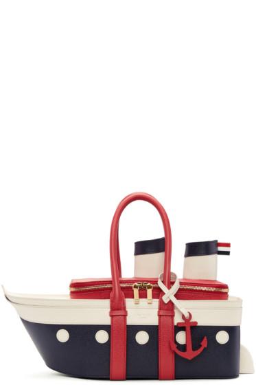 Thom Browne - Tricolour Cruise Liner Bag