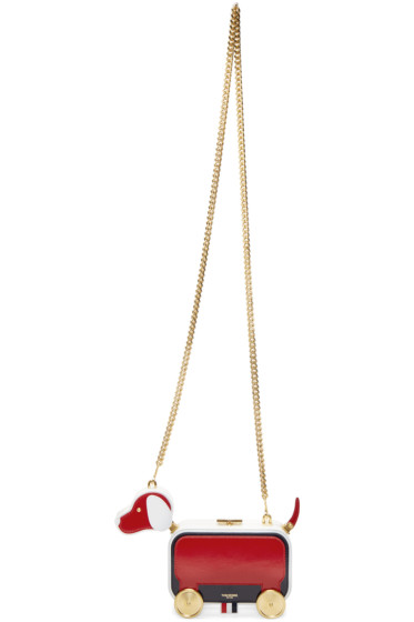 Thom Browne - Tricolor Funmix Chain Hector Bag