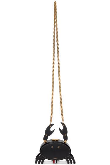 Thom Browne - Black Crab Bag