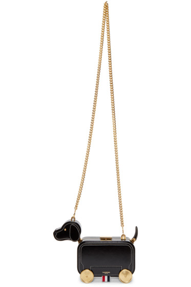 Thom Browne - Black Chain Hector Bag